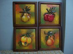 Frutas talladas och