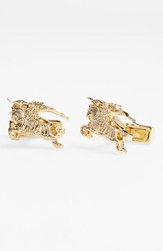 Burberry 'Equestrian Knight' Cuff Links available at #Nordstrom