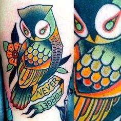 Tattoo by Dusty Neal.