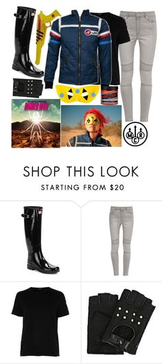 """""""Danger Days Cosplay"""" by inside-report ❤ liked on Polyvore featuring Hunter, French Connection, River Island, Manic Panic NYC and Karl Lagerfeld"""
