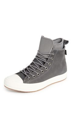 CONVERSE CHUCK TAYLOR WATERPROOF SNEAKERS. #converse #shoes #