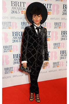 Janelle Monae at the Brit Awards