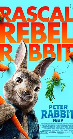 Directed by Will Gluck. With James Corden, Fayssal Bazzi, Domhnall Gleeson, Sia. Feature adaptation of Beatrix Potter's classic tale of a rebellious rabbit trying to sneak into a farmer's vegetable garden. 2018 Movies, Movies Online, Movie Props, Movie Tv, Peter Rabbit Movie, New Movies In Theaters, Good Animated Movies, Sam Neill, Elizabeth Debicki