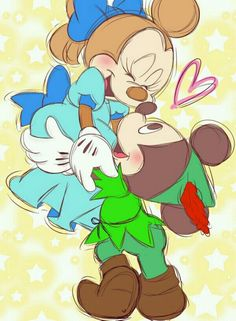 Mickey and Minnie❤