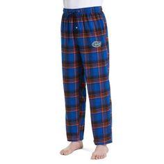 Ncaa Florida Gators Groundbreaker Men's Flannel Pant, Size: Medium, Blue