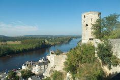 © 2007 Pedro M. Mielgo. Castillo de Chinon, sobre el río Vienne.