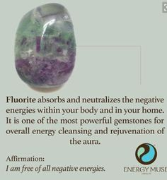 Fluorite Stone, View the Best Fluorite Stones from Energy Muse Now Crystals Minerals, Crystals And Gemstones, Stones And Crystals, Gem Stones, Crystals In The Home, Crystal Healing Stones, Crystal Magic, Reiki Stones, Meditation Stones