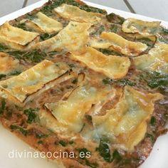 Quiche de espinacas, nueces y camembert » Divina CocinaRecetas fáciles, cocina andaluza y del mundo. » Divina Cocina