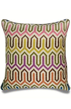 Jonathan Adler 'Bargello Chevron' Pillow