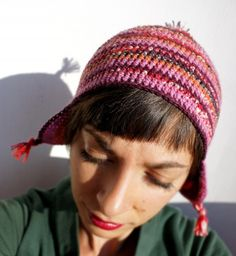A sock on my head! #kollabora #crochet #DIY