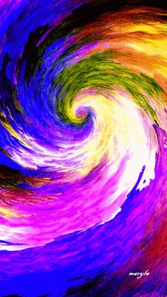 Swirl of color