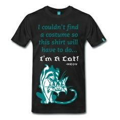 I couldn't find a costume..! Men's shirt only $35.00 on studio3designs.spreadshirt.com!