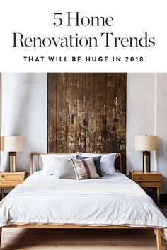 We're calling it: Bold millwork features will be huge in 2018. Anyone up for a bedroom upgrade? — via @PureWow
