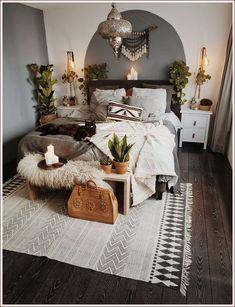 20 shocking Bohemian bedroom decorating ideas for you to see, Bedroom ideas Bedroom decor ideas Bedroom decor inspiration Bedroom design inspiration Boho Style Bedroom, Room Design, Bedroom Furnishings, Home Decor Bedroom, Decor Inspiration, Home Decor, Minimalist Bedroom, Modern Bedroom, Bedroom Design Inspiration