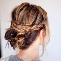 Once your hair is in place, everything else in life seems to be too. #mondaymorning #monday #hair #hairstyle #updo #braids #messy #hairstyles #fit #work #style #bun #active #activeliving #activelifestyle #girl #girls #quote #goodvibes