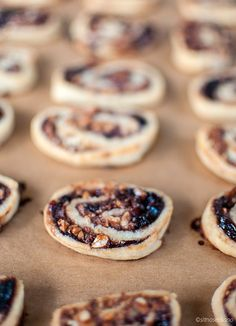 cookies with coffee liqueur and plum jam