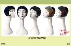 Vividworks Headbands. Felt designs by Den Jones