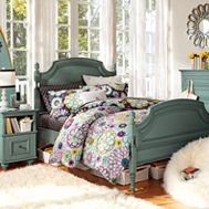 Pottery Barn Madison Floral Coraline Bedroom, I love the bedding:)