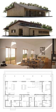 Small House Plan CH341