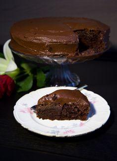 Chokladtårta med chokladsmörkräm - ZEINAS KITCHEN Baking Recipes, Cake Recipes, Dessert Recipes, Desserts, Dessert Ideas, Chocolat Cake, Zeina, Something Sweet, No Bake Cake