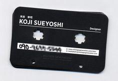 22 Creative and Unusual Die-cut Business Card Designs