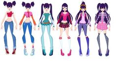 Winx Club Musa outfits