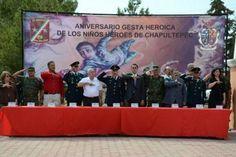 """La verdadera mentira de los ni """"tan"""" niños ni """"tan"""" héroes -. Mitos alrededor de los cadetes del Castillo de Chapultepec: los niños héroes."""
