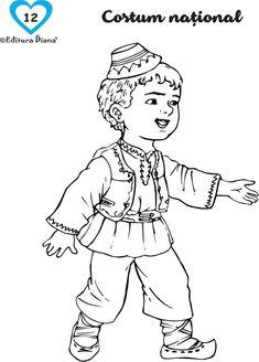 1 Decembrie, School Lessons, Kids Education, Preschool, Draw, Children, Handmade, Fictional Characters, Montessori
