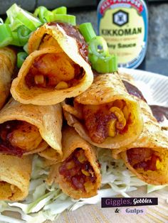 Shrimp Taquitos from Giggles, Gobbles and Gulps http://gigglesgobblesandgulps.com/2014/07/22/shrimp-taquitos/