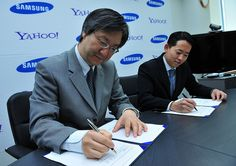Yahoo! announced a strategic global partnership with Samsung to distribute Yahoo!'s industry-leading services on millions of Samsung mobile devices – including those running Samsung bada and Android platforms. Through this partnership Samsung will di http://viettelidc.com.vn