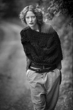 nedalo by se to udělat ze starého velkého svetru?