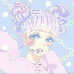"Search Results for ""pastel anime wallpaper"" – Adorable Wallpapers Anime Kawaii, Kawaii Goth, Pastel Goth Art, Pastel Grunge, Kawaii Drawings, Cute Drawings, Girl Drawings, Anime Kunst, Anime Art"