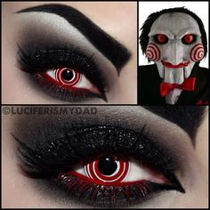SPIRAL CONTACT LENS FOR HALLOWEEN AND COSPLAY: MESMERIZING LENS AND HYPNOTIC LENS