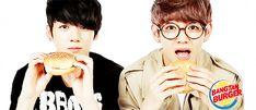 Bangtan Burger- Jungkook and Taehyung