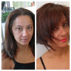 By Haircolor Amp Style By Natalya Before And After