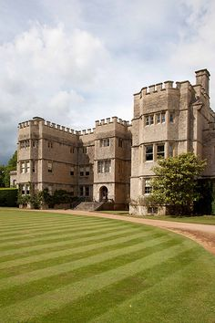 Rousham House is a country house at Rousham in Oxfordshire,. The house, which has been continuously in the ownership of one family, was built circa 1635 and remodeled by William Kent in the 18th century in a free Gothic style.