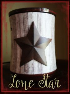 Scentsy Lone Star Warmer Of The Month And A Few Other Cute Ideas For Incorporating