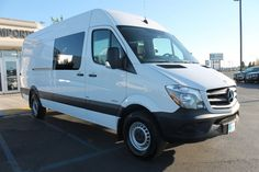2016 Mercedes-Benz Crew Sprinter Vans Normal Roof Van Crew Van