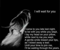 You And I, Love You, Missing You So Much, Pet Loss, Waiting For You, Think Of Me, Rainbow Bridge, Kiss You, Doggies