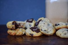 The only chewy keto cookie recipe you'll ever need. These delicious chocolate chip cookies are only 3 net carbs and oh so good!
