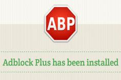 Ad Block Plus is now available on Safari as well. Enjoy browsing without Ads.