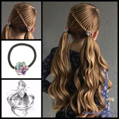 Pigtails with curls and lovely hair elastics from the webshop www.goudhaartje.nl (worldwide shipping). Hairstyle inspired by: @pr3ttygirl79 (instagram) #pigtails #curls #hair #haar #vlecht #vlechten #lovelylook #hairstyle #braid #braids #hairstylesforgirls #beautifulhair #gorgeoushair #stunninghair #hairaccessories #hairinspo #braidideas #amazinghair #amazingbraids #hairfashion #stunningstyles #hairart #braidideas #longhairdontcare #goudhaartje