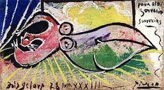 Sleeping Woman - Pablo Picasso - The Athenaeum