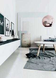 INSPIRACIÓN: #Lámparas BALL Pendant  Máxima sofisticación en el aire #decor #decoración #interiorismo #lamps