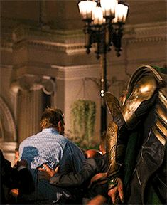 You dare to hit me?! You dare to hit Loki, the God of Mischief?! << that is so the look on his face though. xD