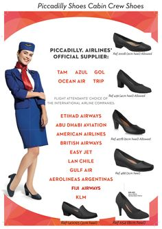 Flight attendant – Piccadilly Shoes