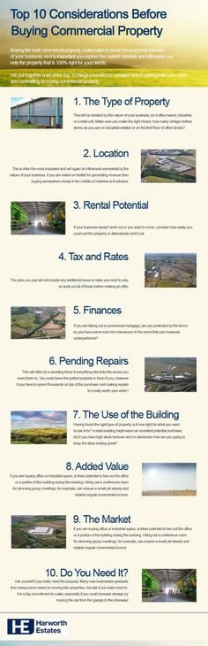 Top 10 Considerations Before Buying Commercial Property