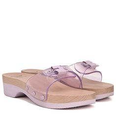 59f19f76876f Dr. Scholl s Orig Collection Originally Sandal by Urban Outfitters Purple  Jelly Comfortable Sandals