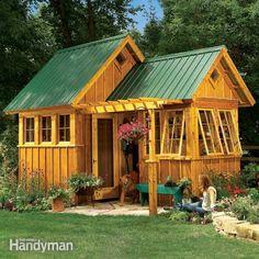 below, in additional information, are the materials list and construction drawings for the ultimate garden shed in the july/august 2014 issue. these are pdf files that you can download and print.