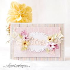 From our Design Team! Card by Małgorzata Dudzińska featuring these Dies -  Cherry Blossom Branch, Random Flags Banner, Berry Flourish, Lotus :-) Shop for our products here - http://lalalandcrafts.com More inspiration from our Design Team here - http://lalalandcrafts.blogspot.ie/2014/05/inspiration-wednesday-string-andor-twine.html